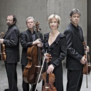 Rainer Schmidt, Clemens Hagen, Veronika Hagen, Lukas Hagen (f.l.t.r)