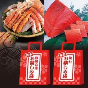 〈鮮魚丸忠〉〈魚力〉年末お楽しみ袋【ご予約承り】