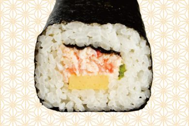 <Sapporo Kani Honke> the rolling thickly-maru or yellowtail