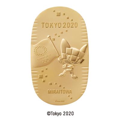 東京2020奧運會吉祥物純金金幣