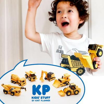 〈KP〉男の子の大好き!はたらく車カーズクラフトとKPBOYコラボTシャツ